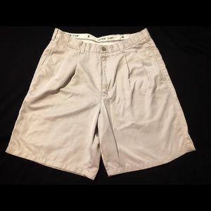 Grand Slam Golf Men's khaki shorts 34